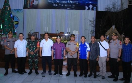 Kapolresta Banjarmasin menyatakan Misa Natal berjalan lancar dan kondusif