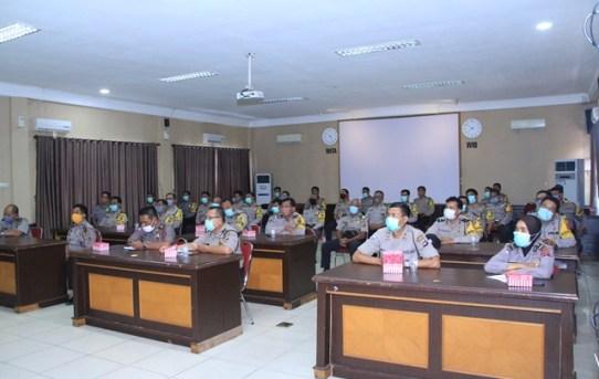Kapolresta Banjarmasin Buka Forum Group Discussion (FGD) Bagi Personel Bhabinkamtibmas