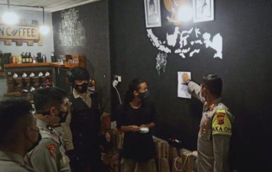 Tak Patuhi Surat Edaran Satgas Covid-19, Sejumlah Cafe Di Banjarmasin Ditutup Paksa