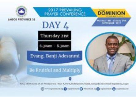 HINDRANCES TO MULTIPLICATION AND FRUITFULNESS - PRAYER