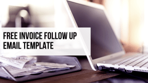 Free Invoice follow up Email template