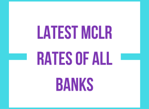 MCLR Rates of all banks