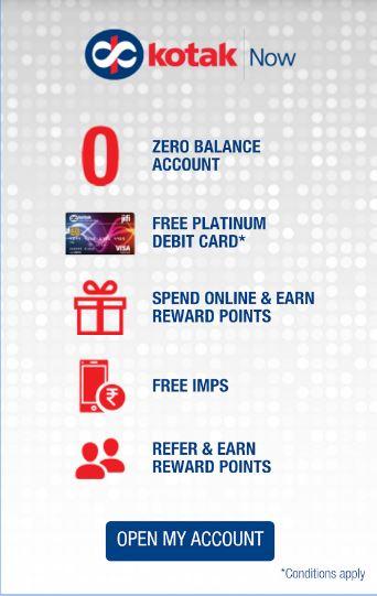 Open Bank Account on App at Kotak Mahindra Bank