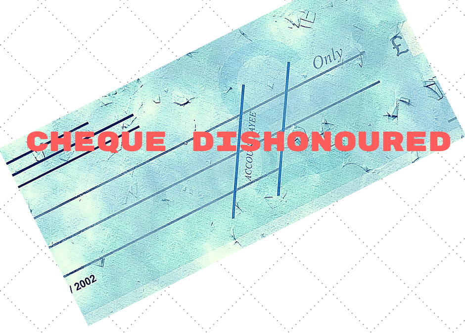 Dishonour of cheque for insufficiency of funds (Section 138 of NI Act)