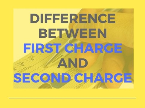 Difference between first charge and second charge