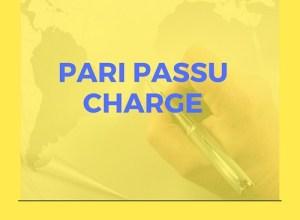 pari passu charge
