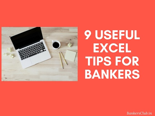 9 Useful Excel Tips for Bankers