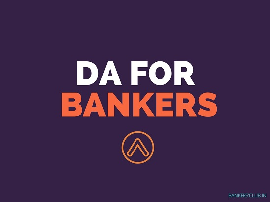 DA for Bank Employees from August 2018