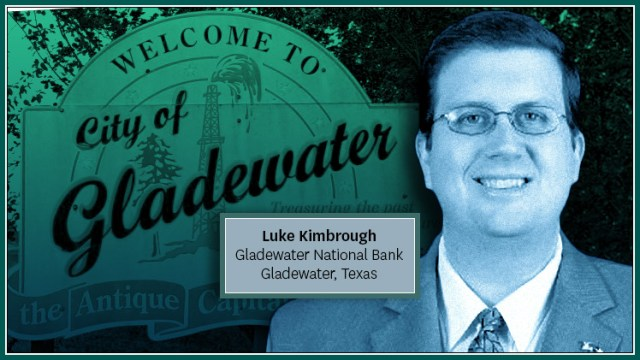 Kimbrough Joins Gladewater National Bank in East Texas as