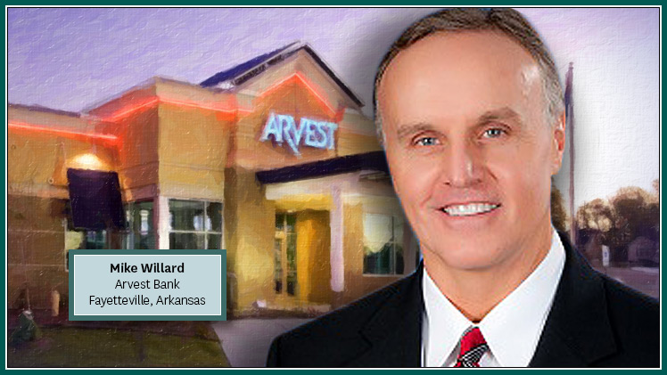 Arvest Bank Names Willard President and CEO of North Central