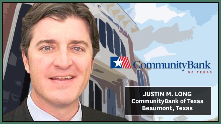 Texas: CommunityBank Of Texas Appoints Long Senior