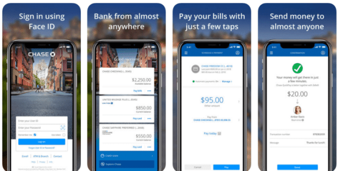 chase apps for windows mobile