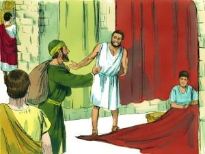 Paul meets Priscilla-Aquila team Acts 18v2