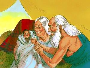 Birth of Isaac