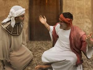 Joseph encounter with cupbearer