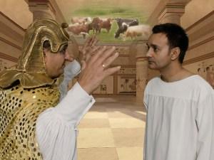 Joseph listens to Pharaoh dream account