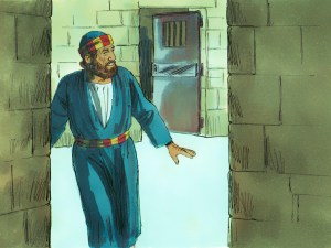 Freed from jail but not yet from Herod