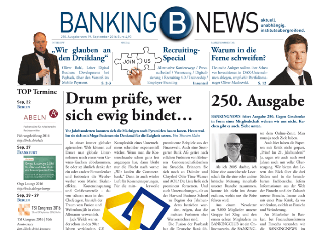 BANKINGNEWS Nr. 250