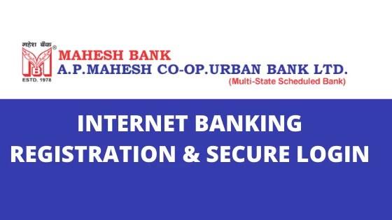 Mahesh Bank net banking
