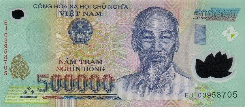 500,000 Vietnamese Dong