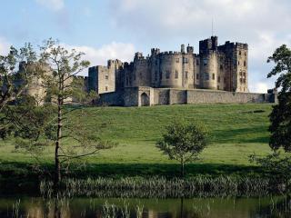 Банк Обоев: обои Нортумберлендский замок. Англия, фото ...