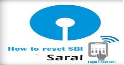 How to reset SBI Saral Login Password