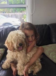"""Our Maggie Moo moo as Isla calls her. So much love for our puppy """