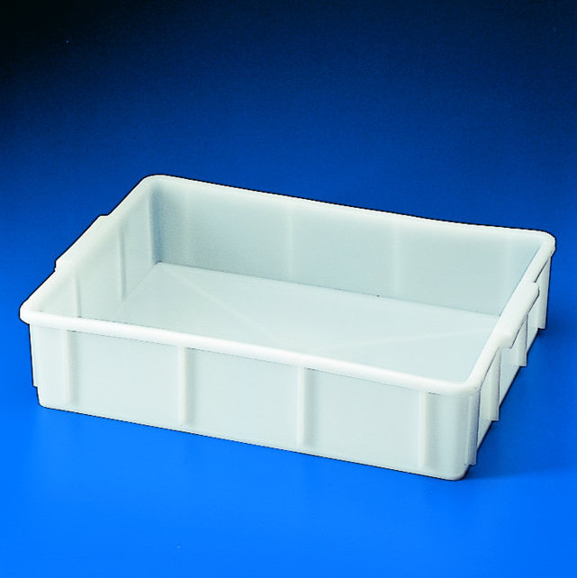 TRAYS White HDPE Shallow Form - Stackable | 16 lt