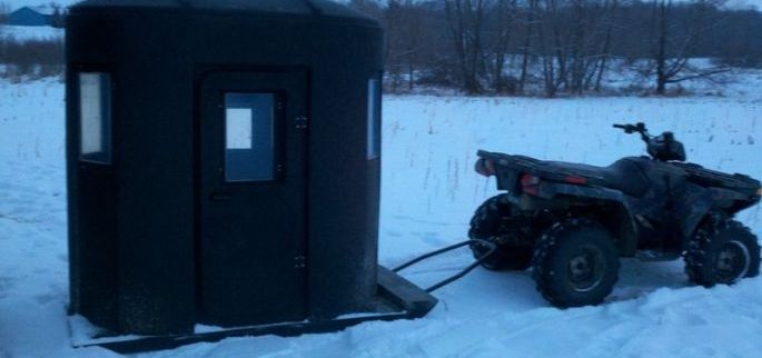 NEW Hunting Blind and Ice Shelter - Banks Outdoors