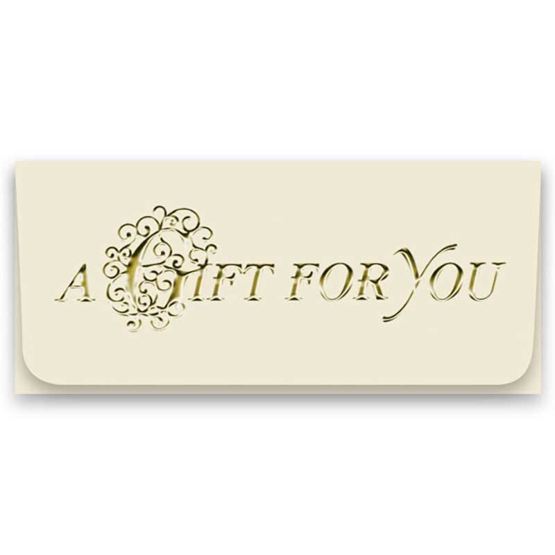 Currency Gift Envelopes A Gift For You Filigree