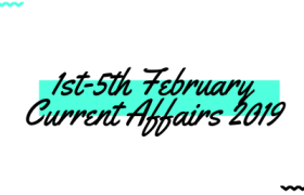 February Current Affairs 2019