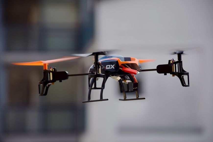 Nowa pasja, drony
