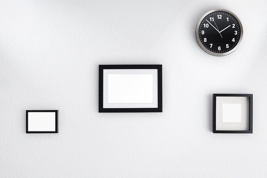 Elegancki zegar na ścianę