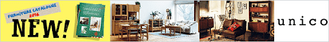 FURNITURE CATAROGUE NEW!unico_468x60_1のバナーデザイン