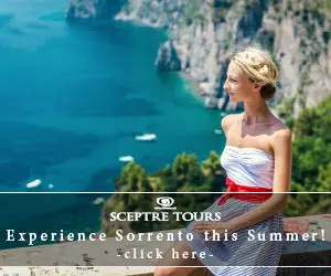 SCEPTRE TOURS Experience Sorrento this Summer!_300×250_1のバナーデザイン