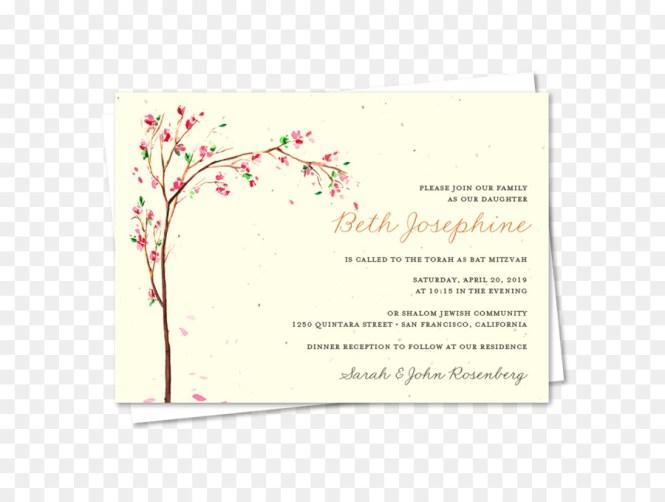 Fl Wedding Invitation Background