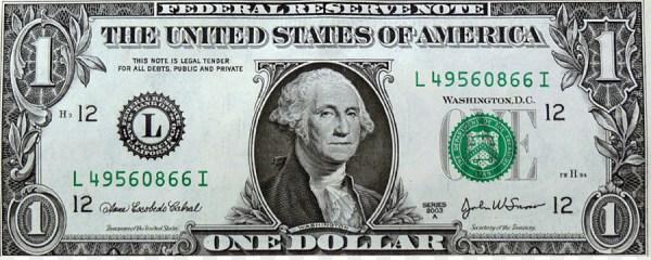 United States one-dollar bill United States Dollar United ...