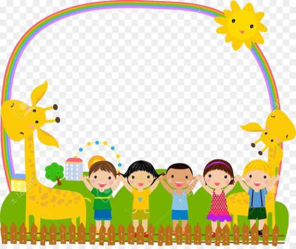 Picture frame Child Illustration - Cartoon children png ...
