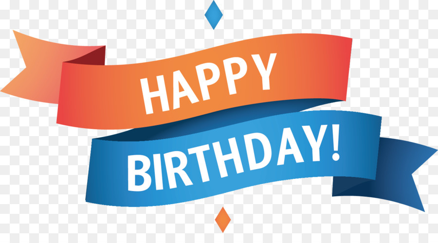 Happy Birthday Cake Logo