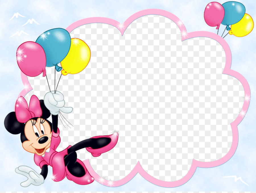 Minnie Mouse Mickey Mouse Borders And Frames Picture Frame