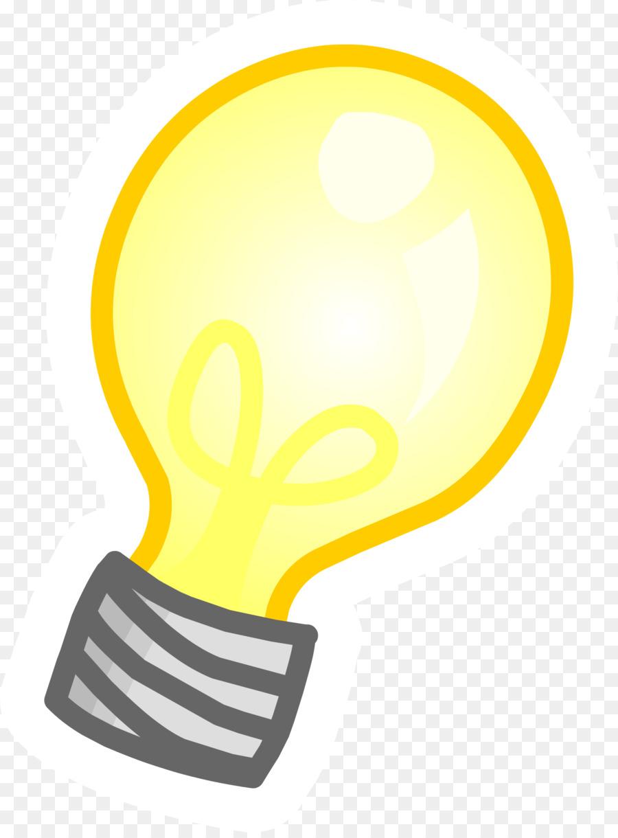 Incandescent Light Bulb Lighting Clip Art Transparent