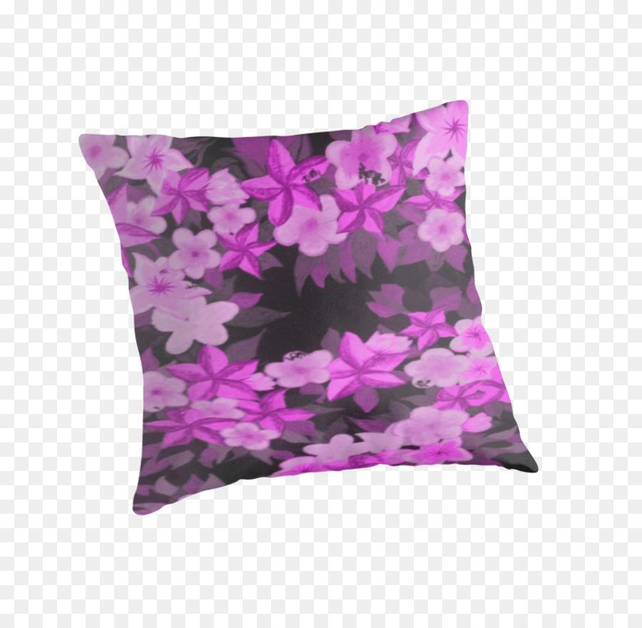 les coussins lilas lavande coussin de magenta plumeria