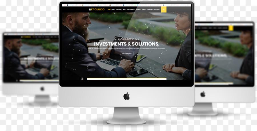 Responsive Web Design Web Template System Website Mockup Free Png