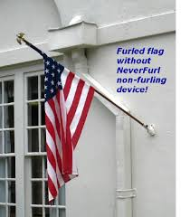 Keep your flag from wrapping around your pole