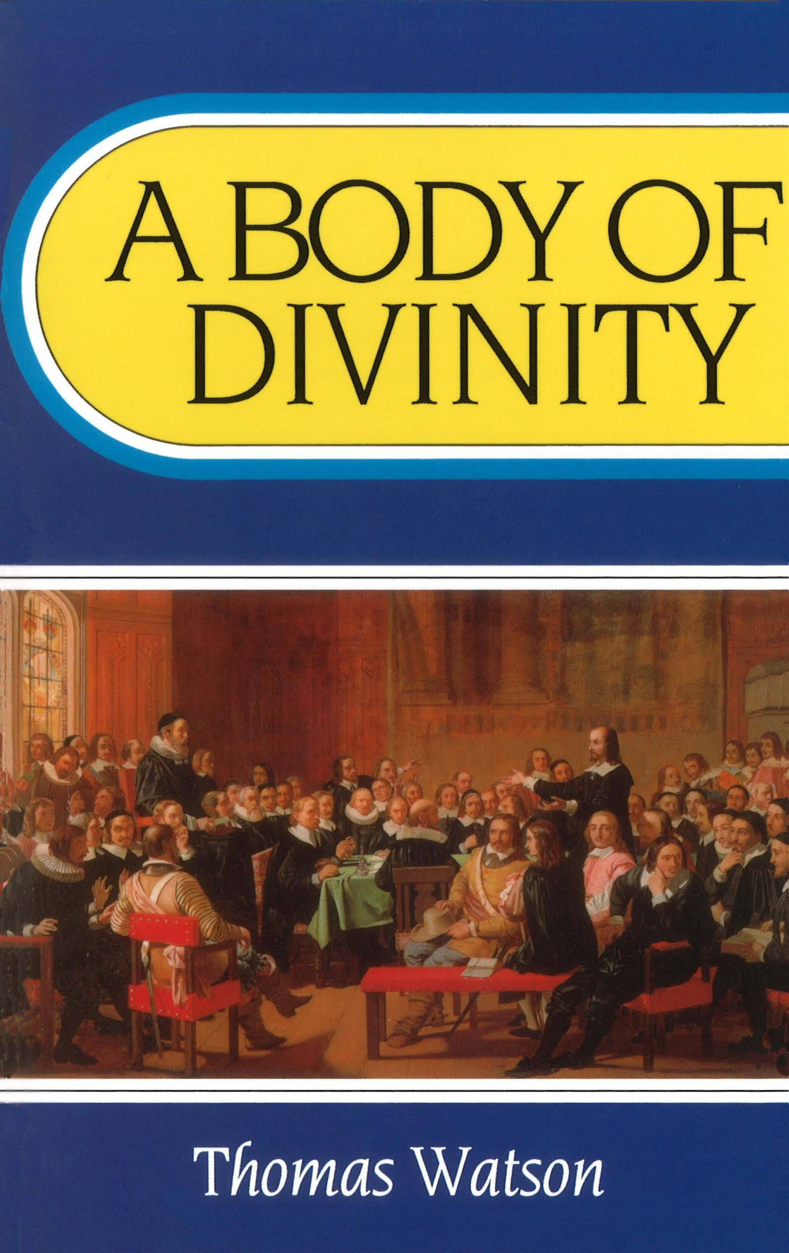 Book Cover for 'A Body of Divinity'