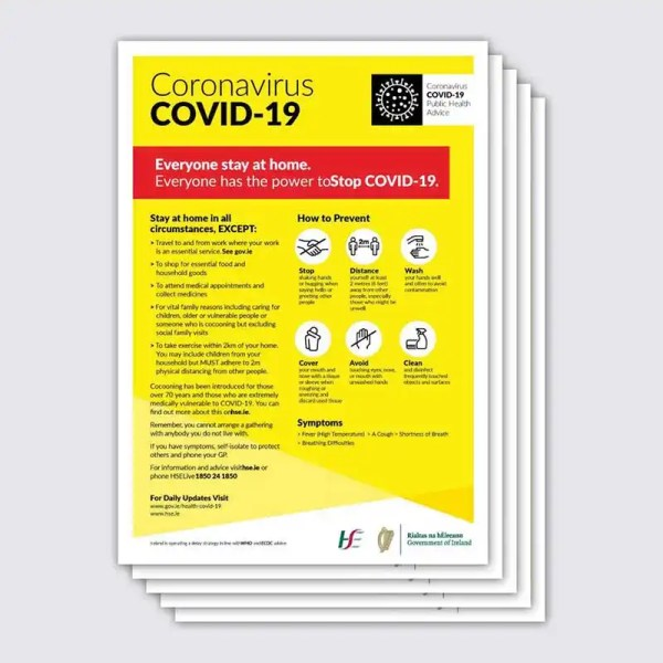 Covid 19 Stay at Home Poster