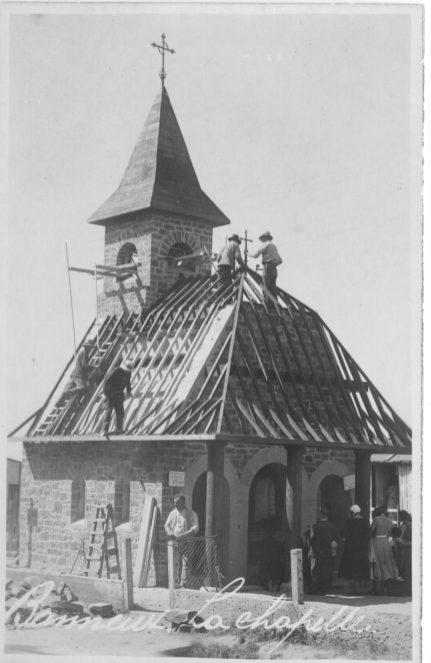 Chapelle de l'apparition construction