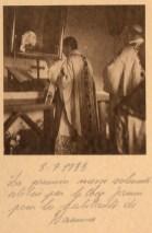 Premiere messe dans la chapelle