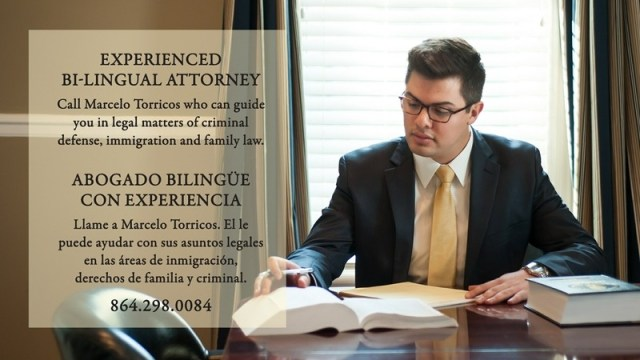 Spanish speaking lawyers in Greenville SC