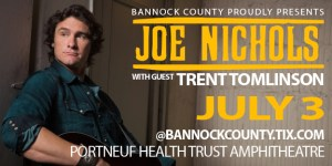 Joe Nichols at Portneuf Health Trust Amphitheatre